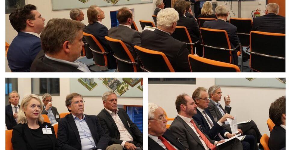 Bijeenkomst met minister Eric Wiebes